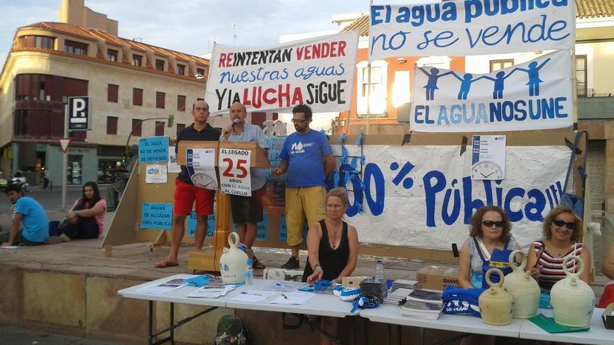 """Alcázar de San Juan sigue adelante con la liquidación del contrato de sus aguas con Aqualia: la venta fue """"puramente ideológica"""""""