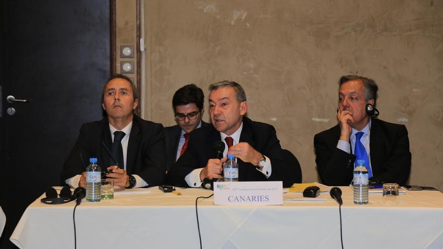 Rivero reclama a la UE que impulse medidas de choque contra el paro en las Regiones Ultraperiféricas