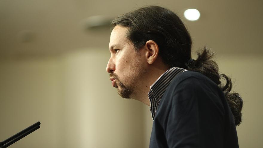"""Iglesias centra su estrategia para Podemos en construir """"movimiento popular"""" y pide a sus parlamentarios ser activistas"""