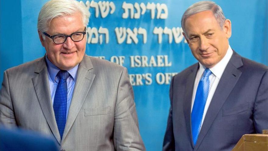 Steinmeier inicia una visita a Israel y Palestina para impulsar el proceso de paz