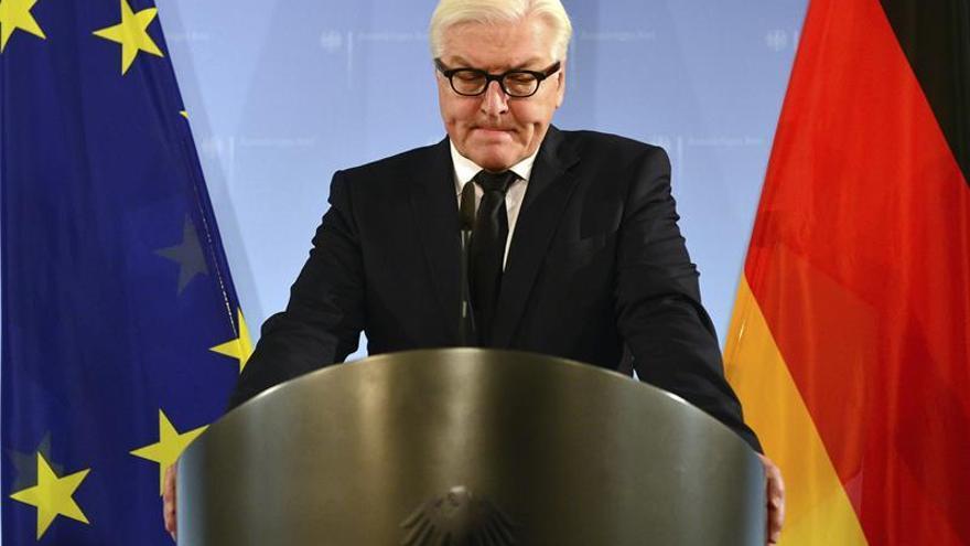 La coalición alemana acuerda que el socialdemócrata Steinmeier sea nuevo presidente