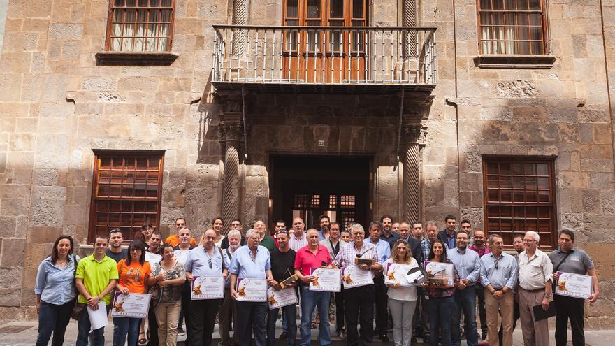 En la imagen, los participantes en el acto celebrado este lunes.