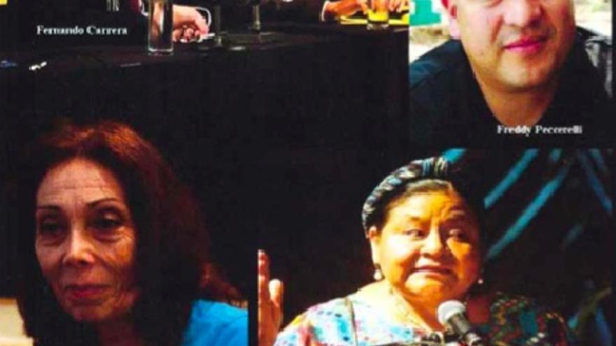 """Algunos de los rostros señalados por la campaña """"Rostros de la infamia"""""""