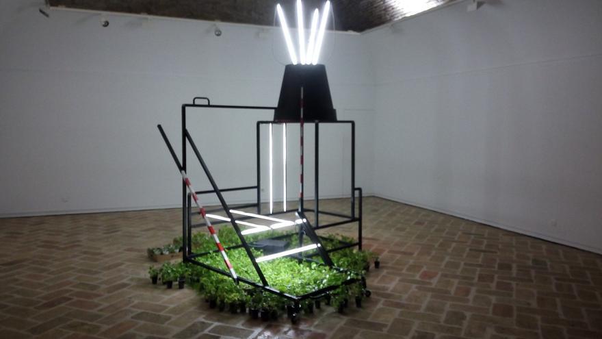 Instalación de Alfredo Zubiaur 'A hidden ecological economy'.