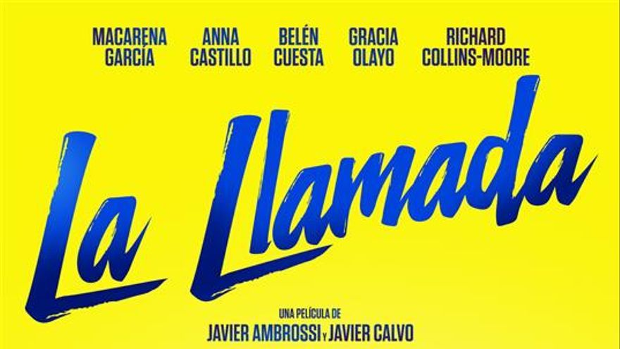 "Cartel ""La Llamada"""