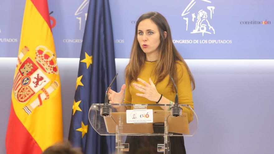 Ione Belarra, candidata por Navarra en las primarias de Podemos al Congreso