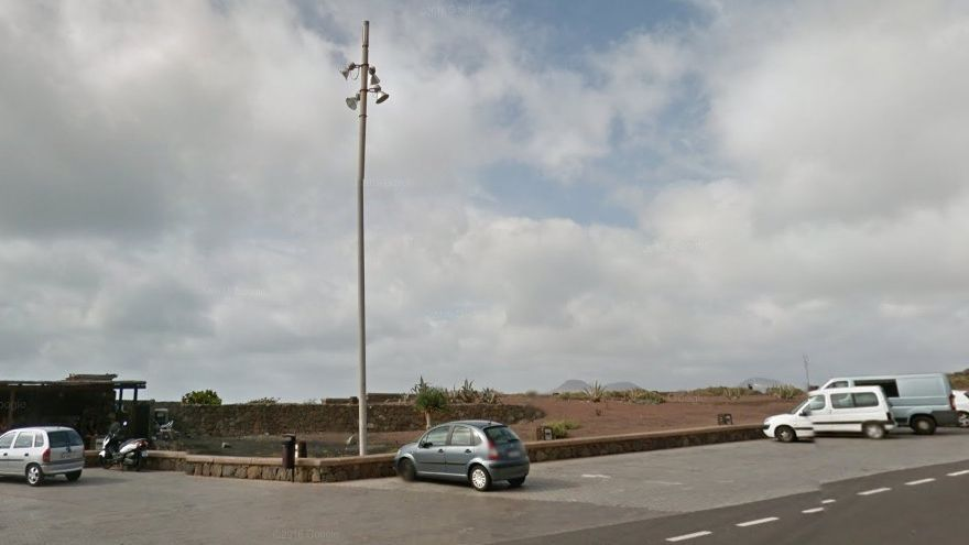 Zona del Monumento del Atlante, en Las Palmas de Gran Canaria.