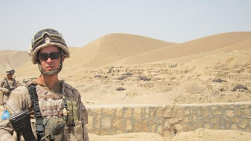 Militar destinado en Afganistán