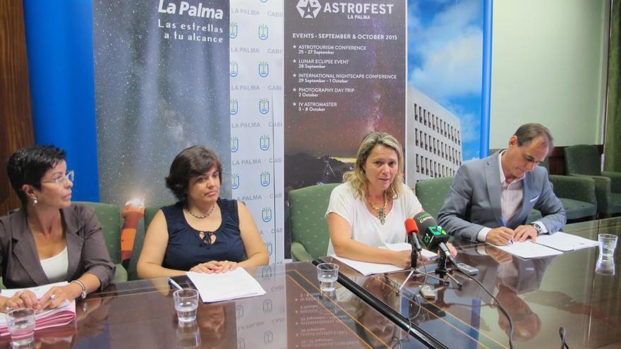 En la imagen, presentación de la primera edición del 'Astrofest La Palma'.