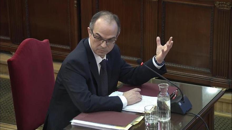 Diez frases de Turull ante el fiscal (y una del juez Marchena)