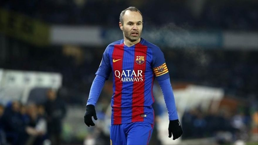 Andrés Iniesta FOTO: Europa Press