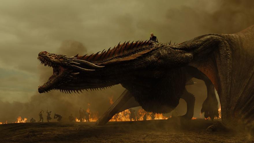 Drogon, el rey del baile contra los Lannister