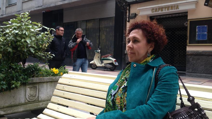 Montse Rosa, experta en participación ciudadana, horas antes de su conferencia en el Palacio Europa.