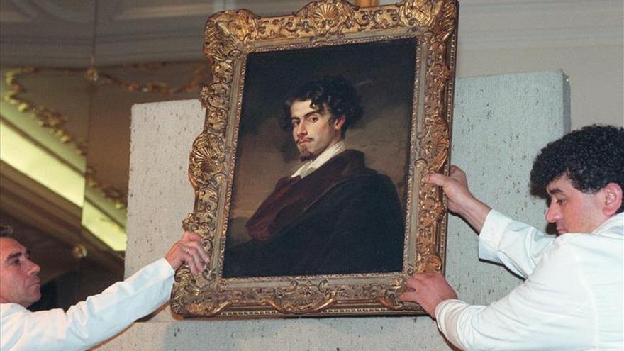 Retrato del poeta Gustavo Adolfo Bécquer.