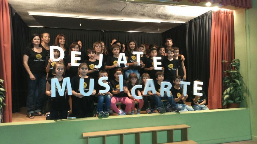 Promoción del proyecto 'Déjate Musicarte'