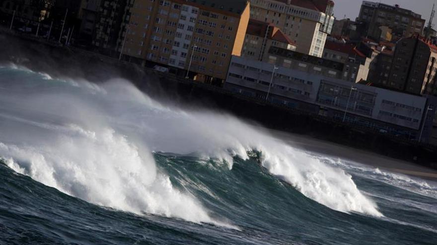 Galicia, Cantabria, Cataluña y Baleares, en alerta por fenómenos costeros