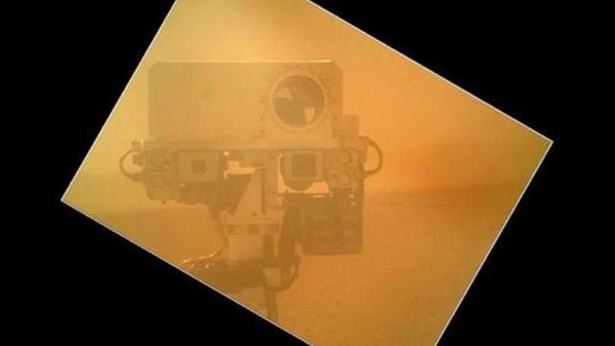 Autorretrato del rover Curiósity. (EUROPA PRESS)