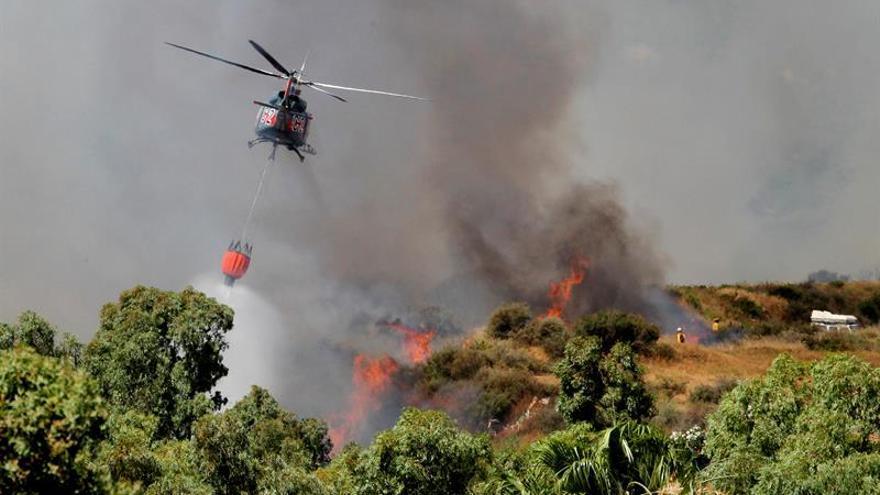 Detenido el supuesto autor de incendios este verano en la provincia de Cádiz