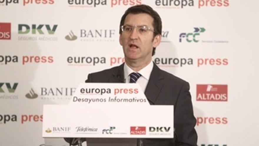 El Presidente De Galicia, Alberto Núñez Feijóo