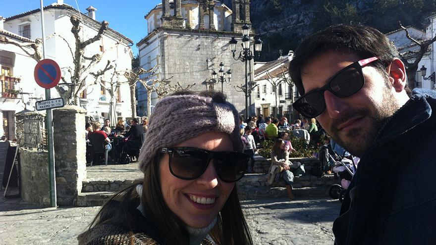 Los promotores de A tomar por mundo, en Grazalema, Cádiz.