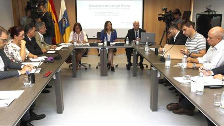 La ONU pide utilizar Gran Canaria para enviar personal a los países con ébola
