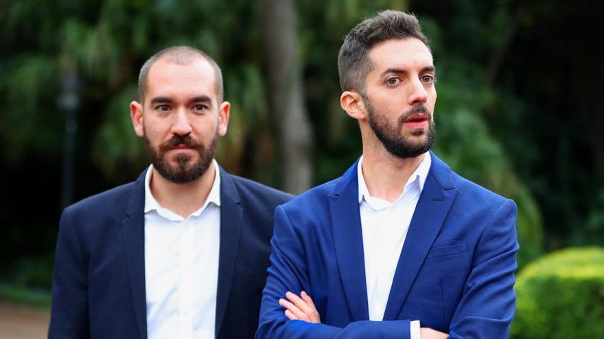 Jorge Ponce y David Broncano, en Barcelona para recoger su Ondas 2019
