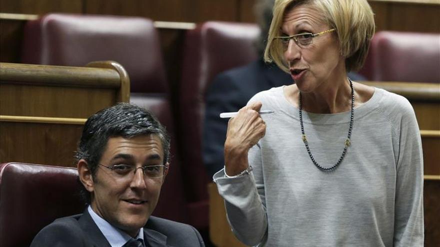 Madina critica que el PSOE asuma la prisión permanente en el pacto con Rajoy