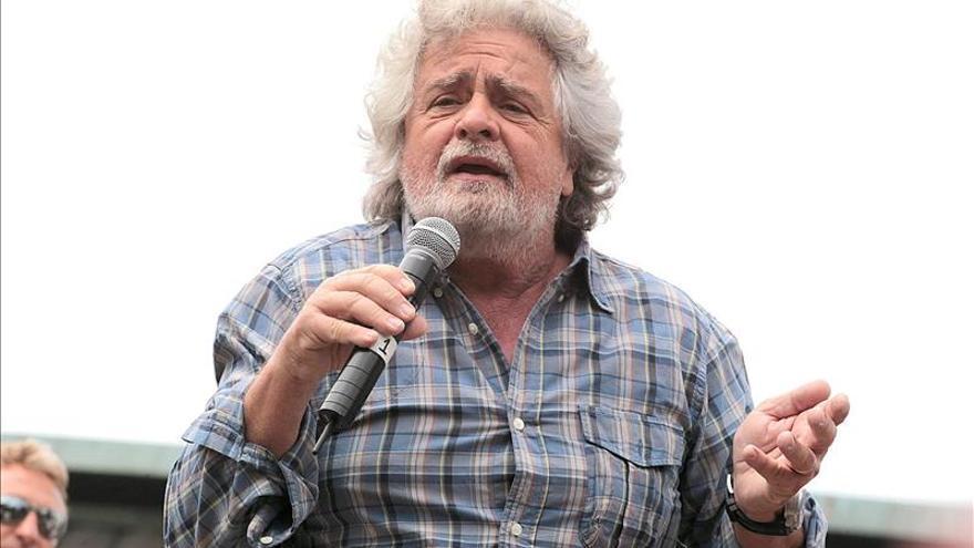 El partido de Grillo pide al Parlamento un proceso de destitución de Napolitano