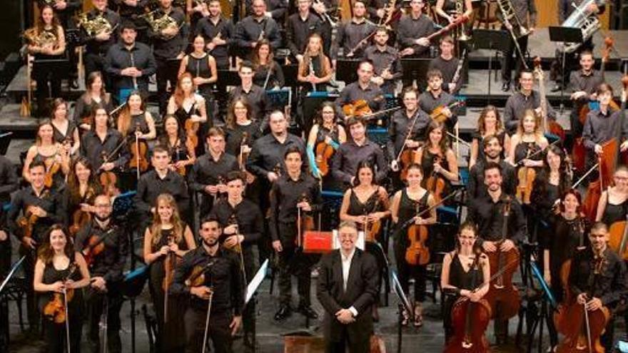 Joven Orquesta de Canarias.
