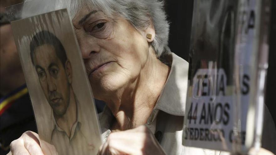 Dos víctimas del franquismo, felices al ser escuchadas en la Audiencia Nacional. /EFE