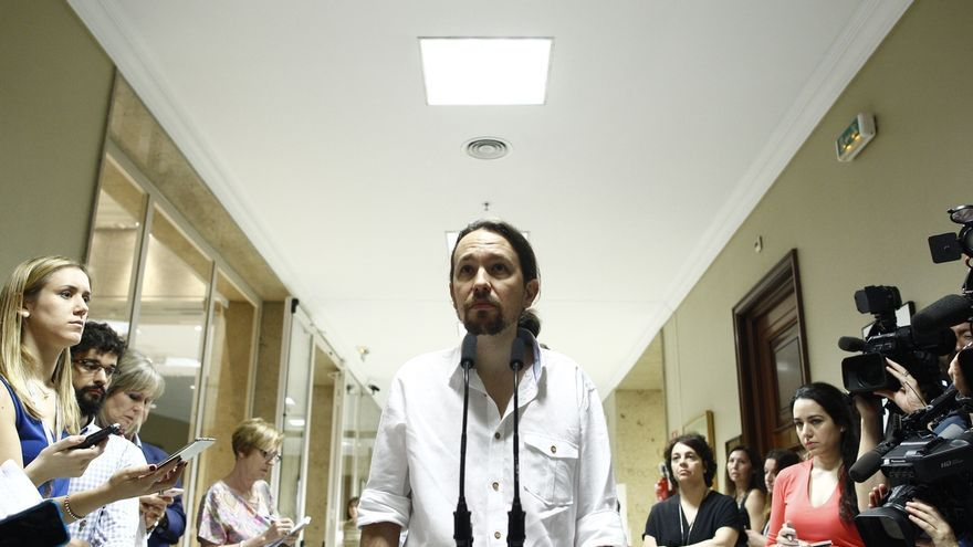 Pablo Iglesias resta importancia a las tensiones internas en Galicia y dice que la dirección estatal no intervendrá