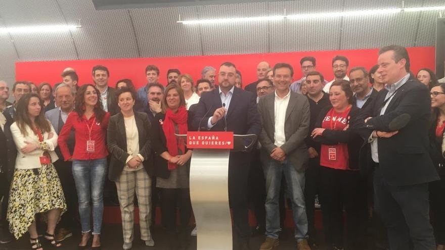Vuelco electoral en Asturias con la victoria clara del PSOE con 3 de los 7 diputados