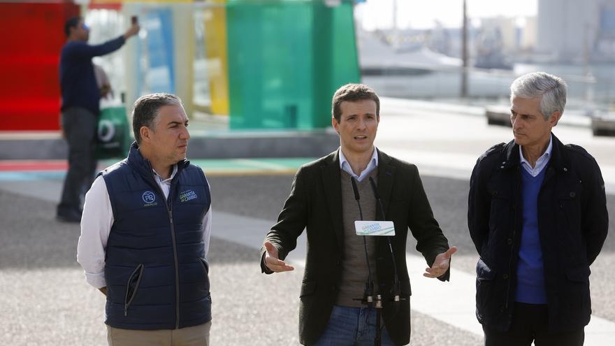 """Casado dice a exvotantes del PP que si vuelven no les """"defraudará"""" y ve claves las andaluzas para echar a Sánchez"""