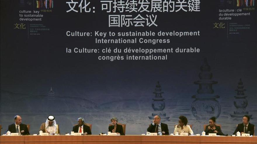 "La directora de la Unesco destaca que ""la cultura crea empleo"""
