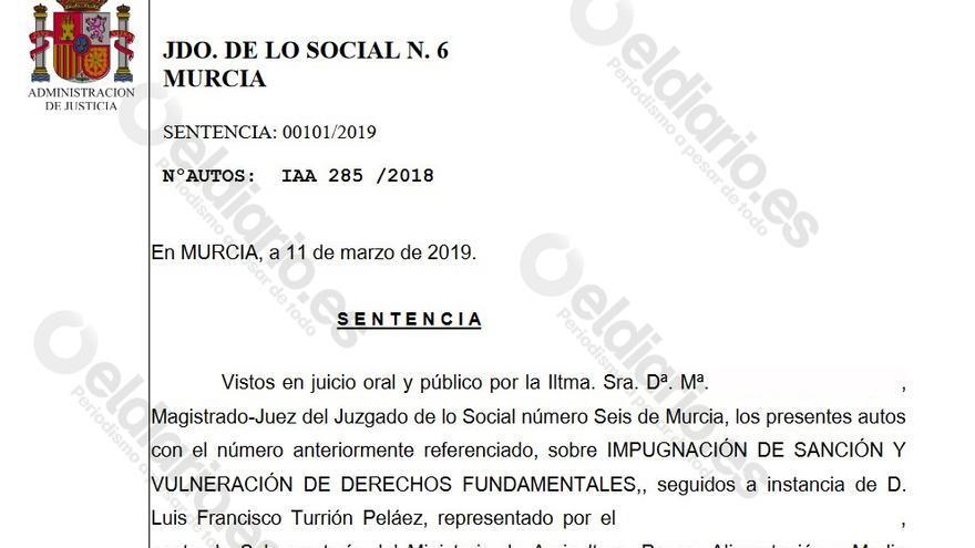 La CHS, obligada a indemnizar a un empleado al que sancionó por negar la necesidad del trasvase Tajo-Segura