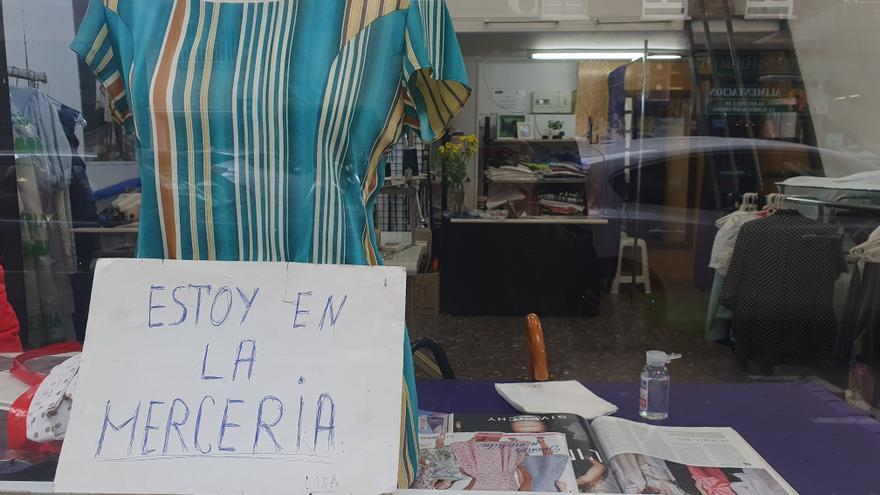 El atelier de Lissa, en el barrio madrileño de Prosperidad.
