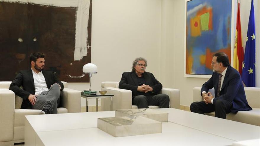 Rufián destaca la buena noticia de que ERC haya sido invitada a la Moncloa