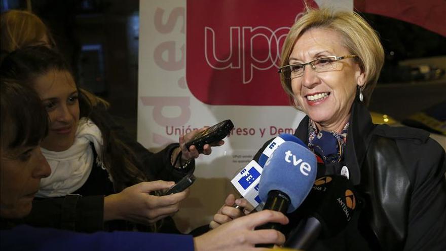 Rosa Díez exige al Gobierno que haga cumplir la sentencia del Constitucional sobre el 9N