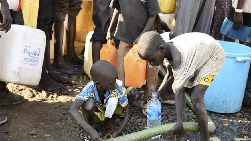 Más de mil niños huyen al día del conflicto en Sudán del Sur, según UNICEF
