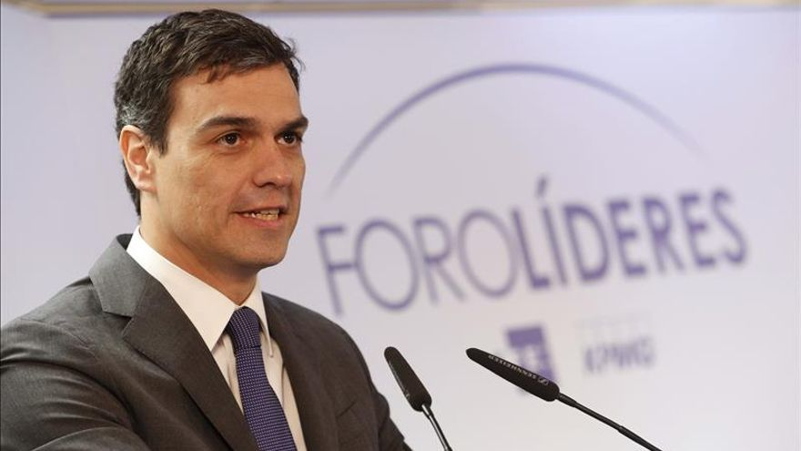 Sánchez anuncia que llevará en su programa abrir las listas hoy cerradas