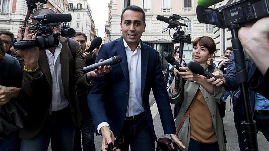 El M5S y la Liga mantienen la propuesta de Conte como primer ministro de Italia