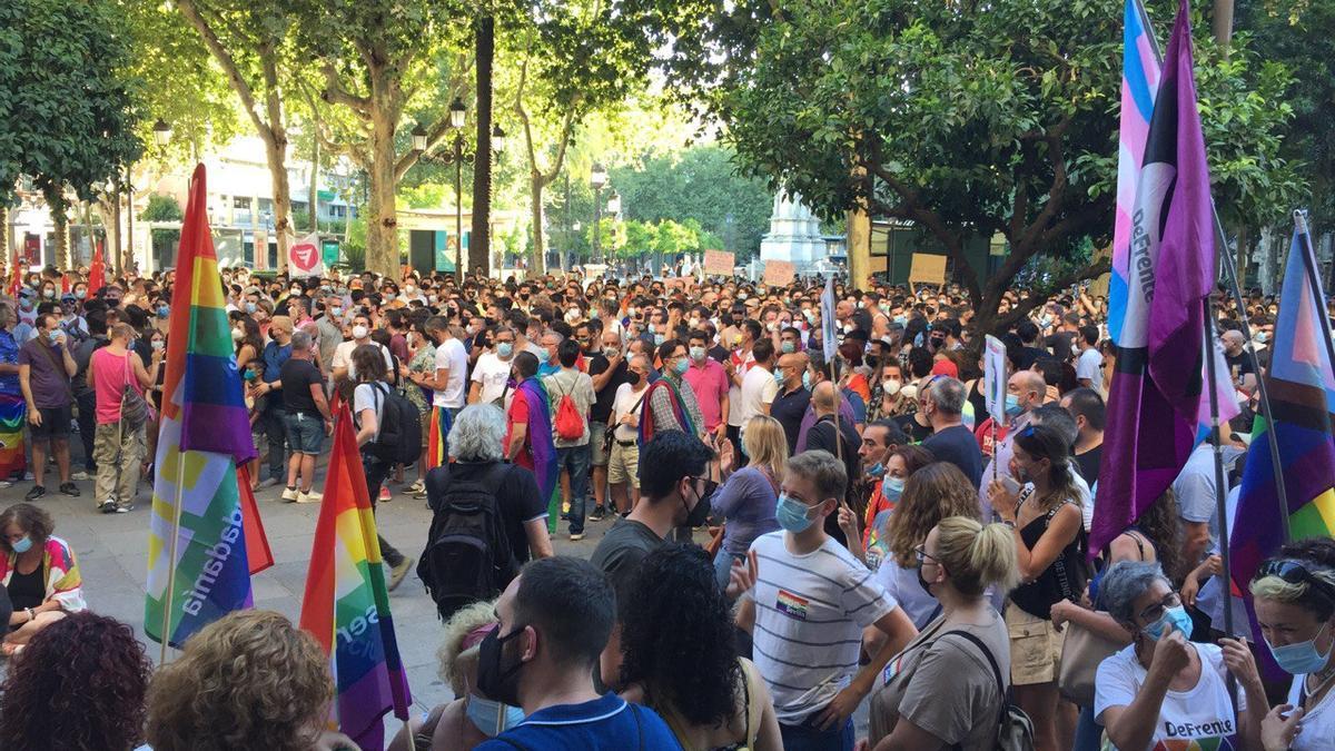 Concentración #JusticiaporSamuel en Sevilla