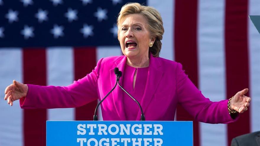 Clinton recurre al discurso del miedo a Trump para movilizar al votante negro