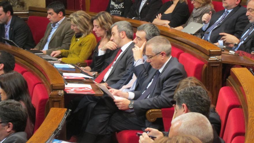 """Navarro acusa a CiU y ERC de """"cargarse"""" el derecho a decidir de los catalanes"""