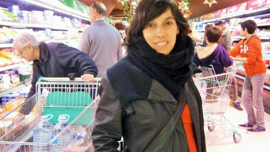 Esther Vivas, autora de 'El negocio de la comida' / J.M.