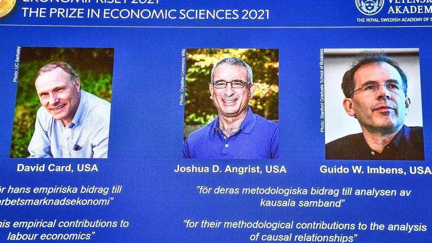 Los ganadores del Nobel de Economía