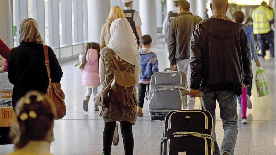 El saldo migratorio alcanza su máximo histórico en Alemania con 1,1 millones