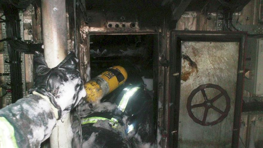 Una mujer de 75 años muere al incendiase su casa en Navia (Asturias)