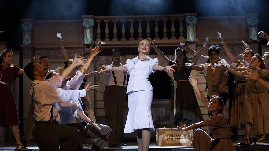 La Palma es la primera escala de la gira de Evita por el Archipiélago.
