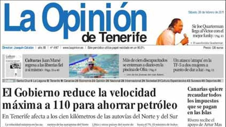 De las portadas del día (26/02/2011) #12